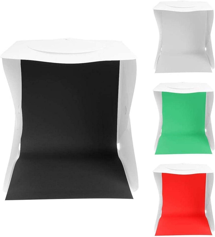 Caja de luz portátil de 72 LED Caja de luz Mini Caja de Estudio fotográfico Caja de fotografía Estudio de luz Kit de Caja de Tienda de campaña 4 Fondos de Color