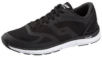 Pro Touch Run-Schuh Oz Pro V M - schwarz/blau/gelb, Größe:45