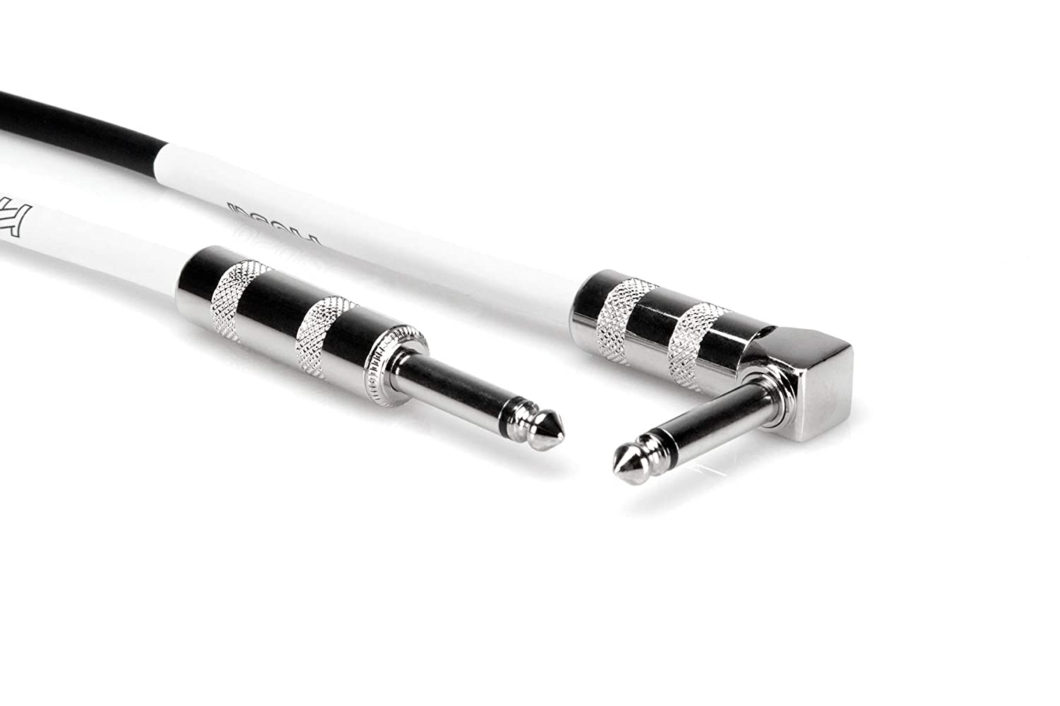 Hosa GTR-205R Straight to Right Angle Guitar Cable 5 Feet