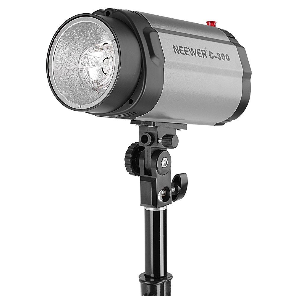 Neewer Luz Estrobosc/ópica Flash de Estudio 300W Ideal para Iluminaci/ón Principal Iluminaci/ón de Relleno o Iluminaci/ón Posterior