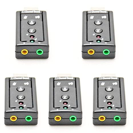 Laptop For PC 3D 7.1 Channel External Sound Audio USB 2.0 Virtual Mic Card