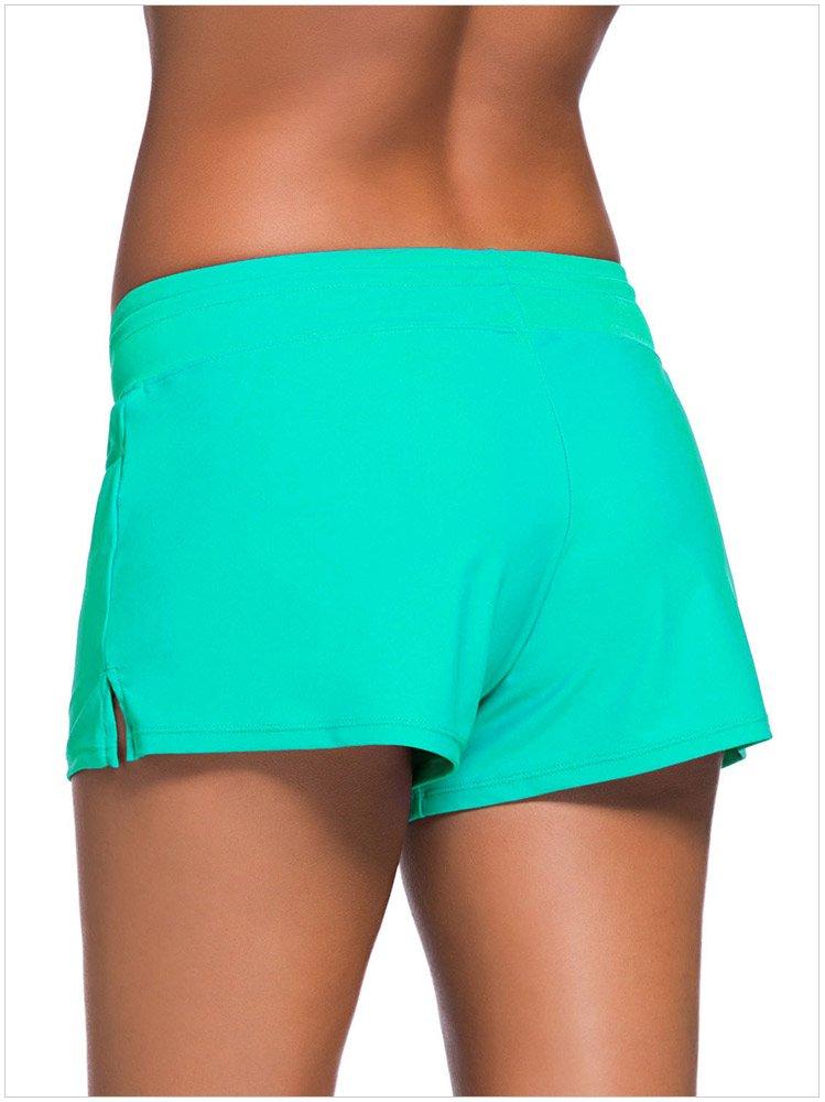 Swallowuk Damen Casual Wassersport Strand Rock Badeshorts Bikinihose Beach Shorts Hotpants