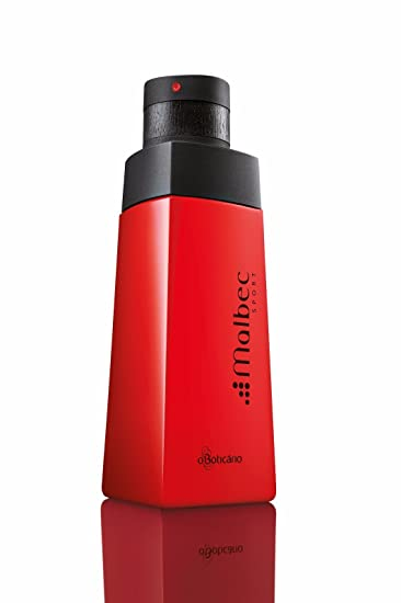 Linha Malbec Boticario - Colonia Sport 100 Ml - (Boticario Malbec Collection - Sport Eau