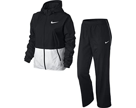 Nike Half Timer Warmup - Chándal para Mujer, Color Negro/Blanco ...