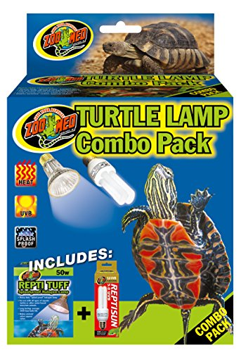 (Zoo Med Combo Pack Turtle Lamp)