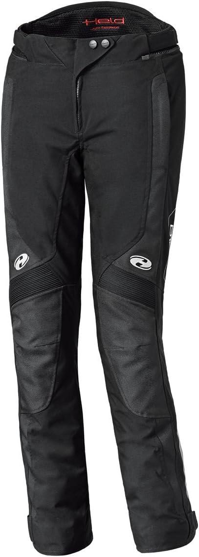 Held Nela Damen Motorradhose Farbe schwarz Gr/ö/ße Kurz 3XL