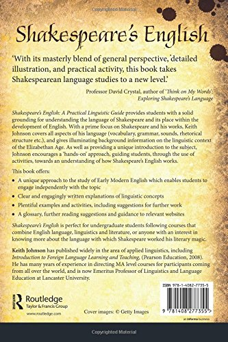 Shakespeare's English: A Practical Linguistic Guide