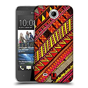 Head Case Designs Warm Aztec Doodle Protective Snap-on Hard Back Case Cover for HTC Desire 300
