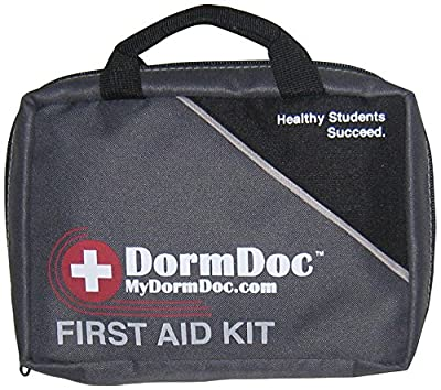 Dorm Doc 2.0 125 Piece First Aid/OTC Med Kit for Students from MyDormDoc.com LLC