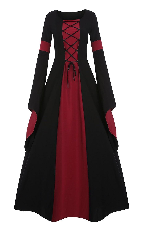 BBalizko Renaissance Medieval Irish Costume Over Dress Medieval Dress Gothic Dress