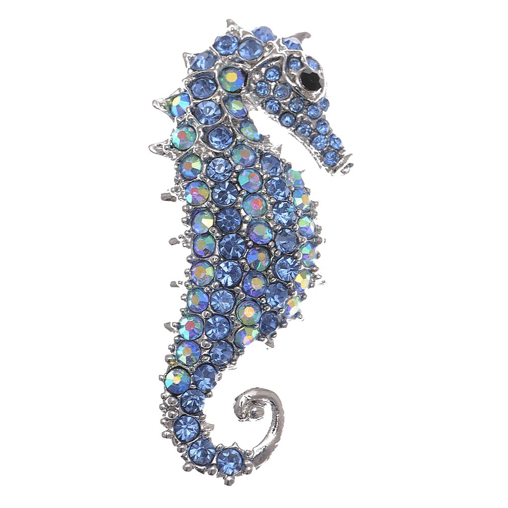 Birthday Gifts - Rhinestone Sea Horse