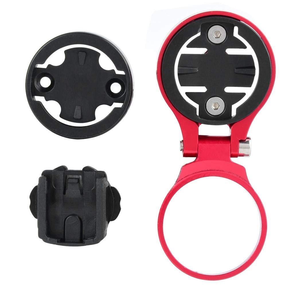 Bicycle Handlebar Camera Holder, Bike Stem Mounting Holder Aluminum Alloy Set(Red) by Bnineteenteam