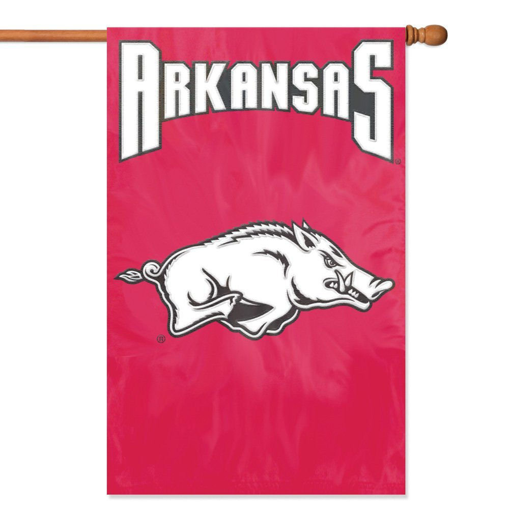 Party Animal Arkansas Razorbacks Banner College Flag
