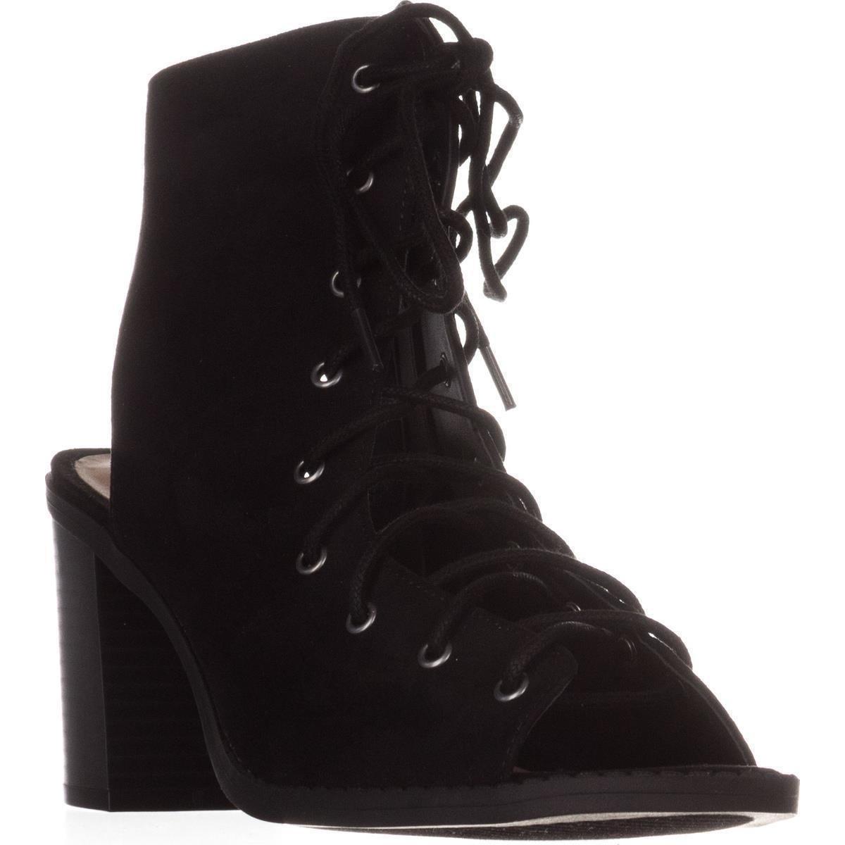 American Rag Frauen Savanah Stiefel Offener Zeh Fashion Stiefel Savanah schwarz c6f2f6