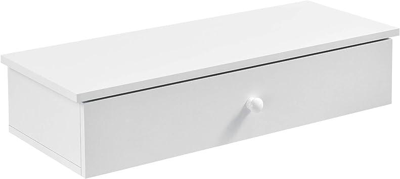 Nachttisch mit 3 Schubladen Sonoma Eiche Nachtschrank Flurschrank Wandregal