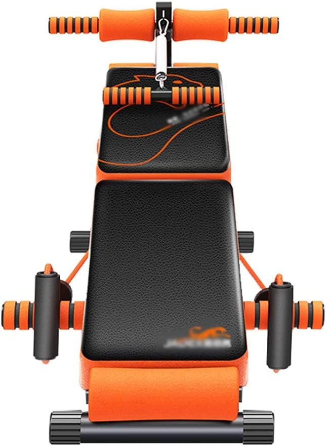 GYL Workout Bench - Tablero Abdominal Multifunción para Abdominales Equipo De Gimnasia Hombres y Mujeres Banco con Mancuernas