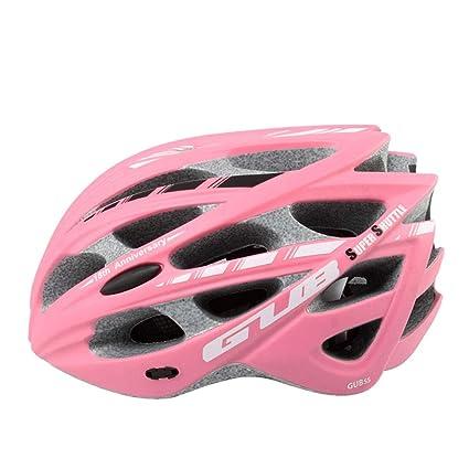 SX-ZZJ Cascos Casco - Bicicleta de montaña para Adultos, Hombres Ligeros y Casco