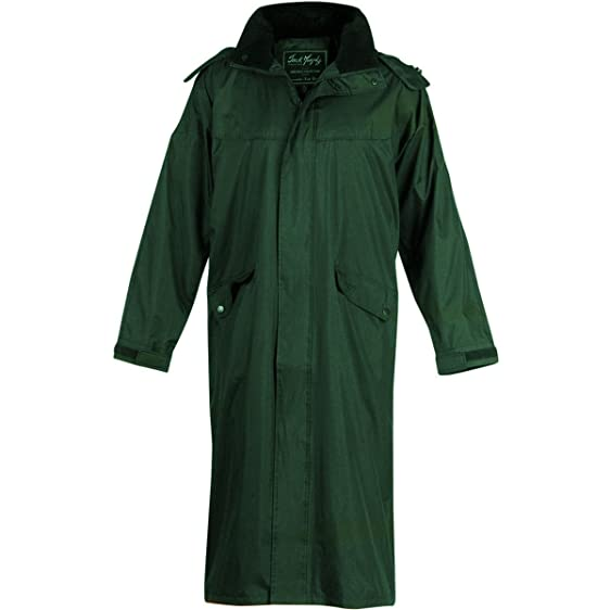 Jack Murphy Stockton Men's Long Waterproof Coat: Amazon.co.uk ...