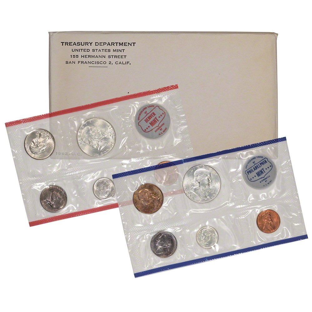 1962 US Mint Proof Set