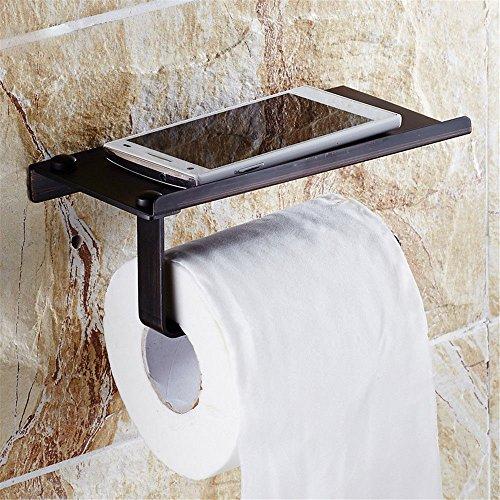 Hlluya Toallero 古 Cobre Negro Completo baño toallero bastidores Antiguos para Establecer Item, incorporada en el Estante: Amazon.es: Hogar