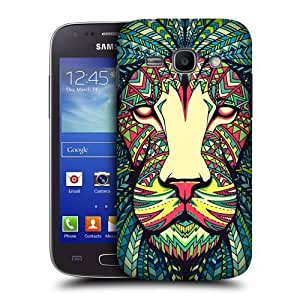 lintao diy AIYAYA Samsung Case Designs Lion Aztec Animal Faces Protective Snap-on Hard Back Case Cover for Samsung Galaxy Ace 3 S7270 S7272 S7275