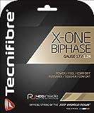 テクニファイバー(Tecnifibre) テニス ガット エックスワンバイフェイズ X-ONE BIPHASE 12m