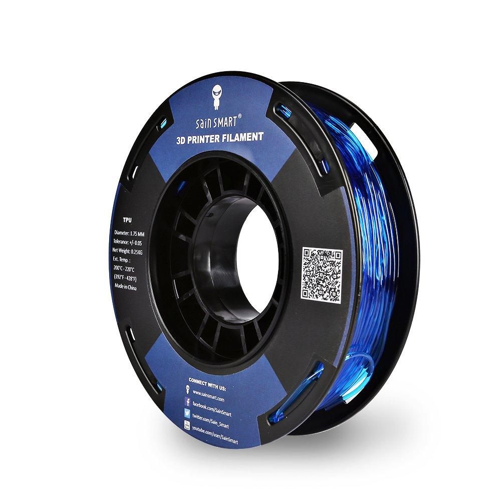 SainSmart - Bobina pequeña de 1,75 mm, filamento 3D de poliuretano ...