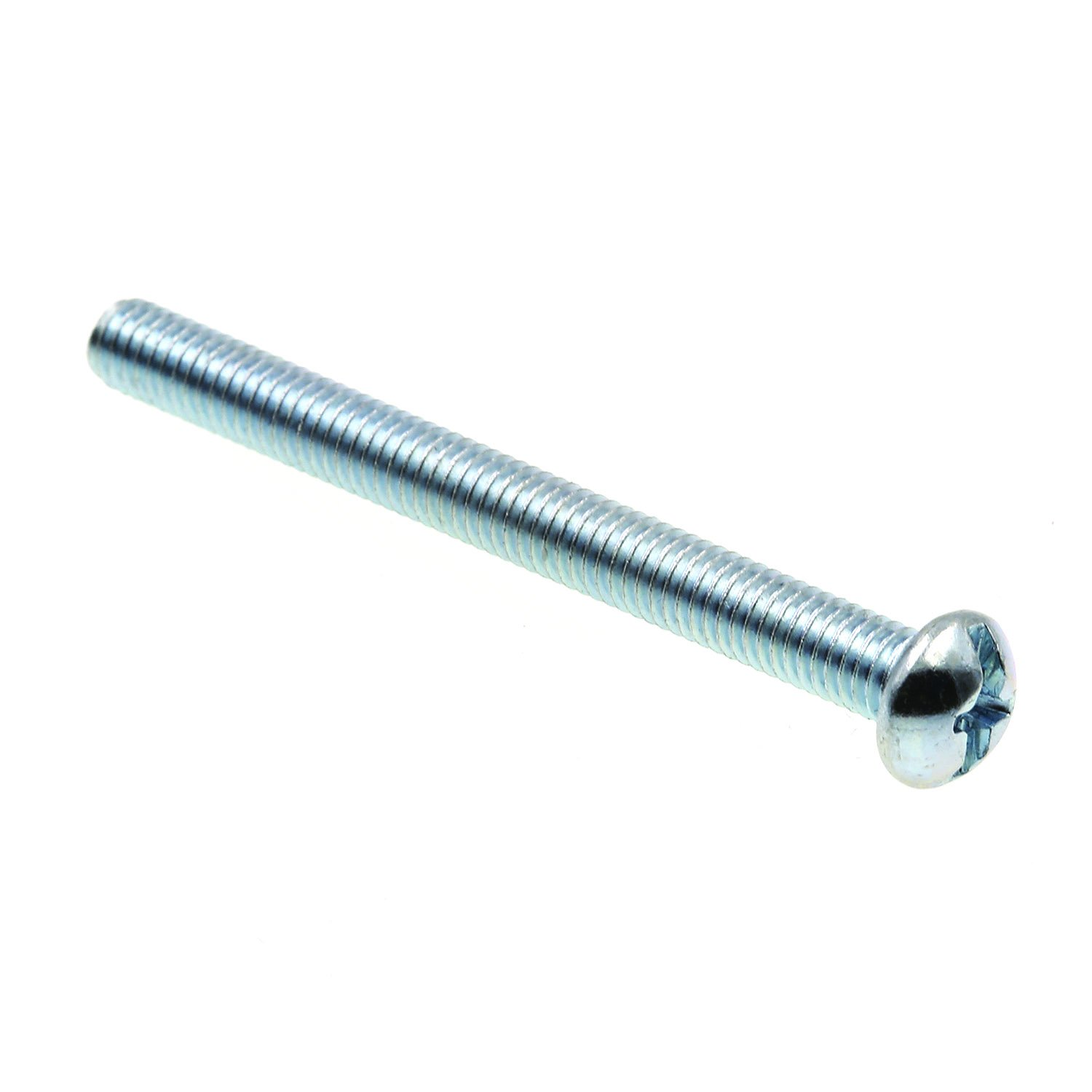 Round Head Slotted//Phillips Combo Prime-Line 9004424 Machine Screw Zinc Plated Steel 10-32 X 2 in Pack of 75