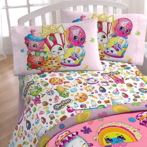 Shopkins Super Soft Twin Sheet Set