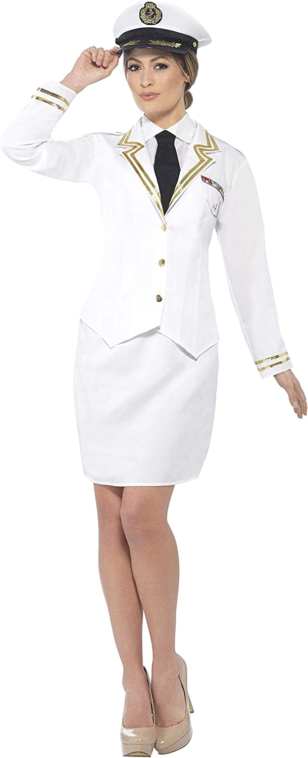 Smiffys Naval Officer Womens Costume