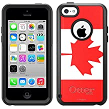 Skin Decal for Otterbox Commuter Apple iPhone 5C Case - Canada Flag