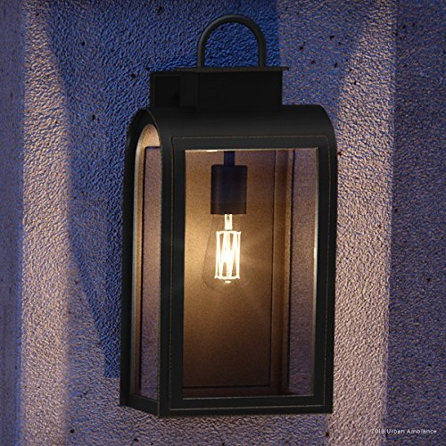 Luxury Art Deco Outdoor Wall Light, Large Size: 21