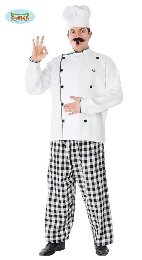 Guirca Costume da Cuoco Chef per Adulti b495bc856be0