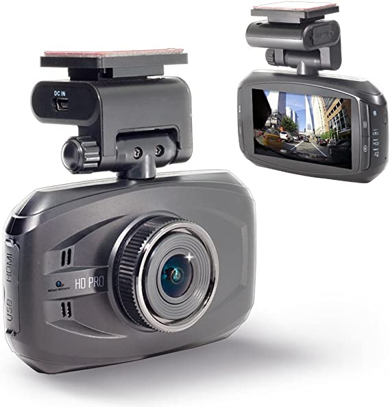 "Carkoler Mirror Dash Cam Dual Camera with 10/"" 1080P Full HD Touch Screen 140 Wide Angle Backup HDR Camera Recorder"