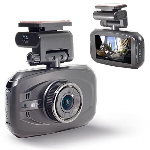 WheelWitness HD PRO Dash Cam with GPS - 2K Super HD - 170° Lens - 16GB microSD