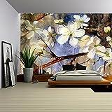 wall26 Self-adhesive Wallpaper Large Wall Mural Series (66''x96'', Artwork - 26)