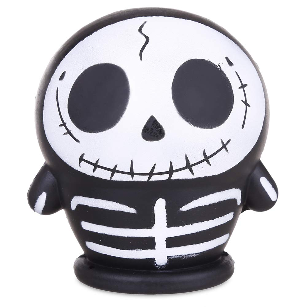 Anboor 4.3 Squishies Skull Doll Halloween Slow Rising Scented Squishies Stress Relief Kid Toys Decorative Props