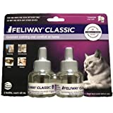Feliway Classic Diffuser Refill for Cats | Constant Calming & Comfort at Home (2 Pack(48 ml))