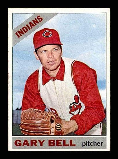 #525 Gary Bell SP - 1966 Topps Baseball Cards Graded EXMT - Baseball Slabbed Autographed