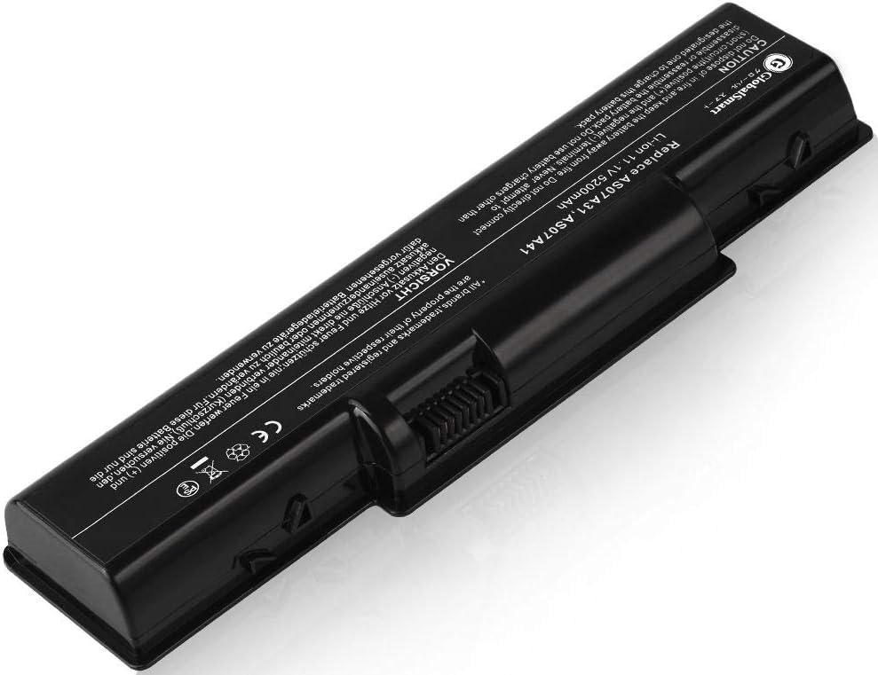 【増量】 ACER エイサー Acer Aspire 5541G 対応用 ブラック 【日本セル・6セル】 GlobalSmart高性能 互換バッテリー