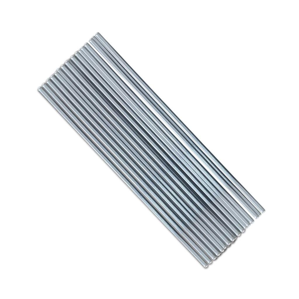 Wire Core,SuperUS 50PCS 2mm500mm Low Temperature Aluminum Electrodes Do Not Require Solder Powder For Soldering