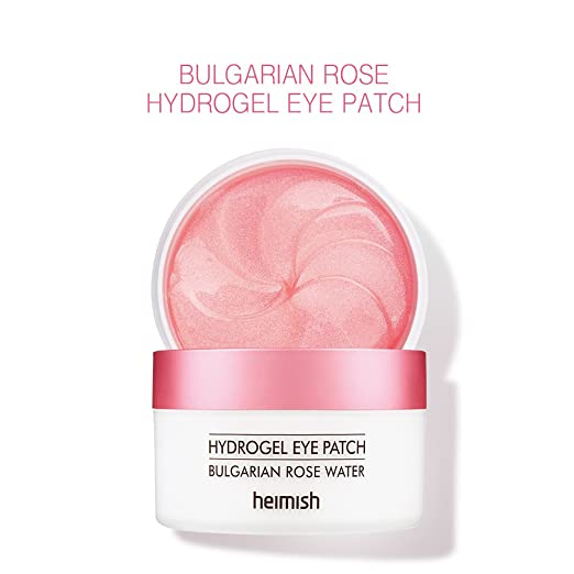 Amazon.com : Heimish Bulgarian Rose Hydrogel Eye Patch 1.4g x 72 ...