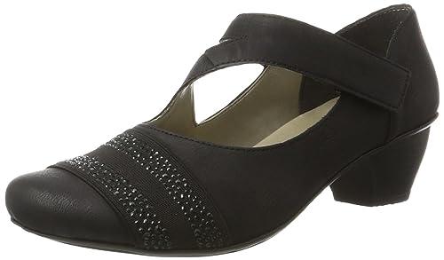 6e6fae139f6 Rieker Women's 47691 Closed Toe Heels