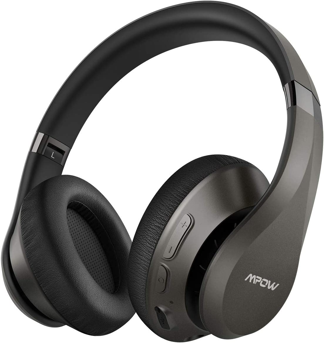 Mpow H20 [Upgraded 059] Bluetooth Headphones Over Ear, Wireless Headphones with Latest CVC 8.0 Mic, 30 Hours Playtime Wireless Hi-Fi Deep Bass Headphones, Over Ear Headphones with Soft Earmuff