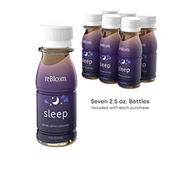 Amazon.com: rebloom all-natural Dormir Bebida 7-bottle ...