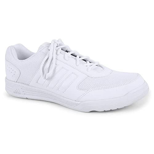 Adidas Men White School Shoes Sports Shoes (UK India Size 5 to 13)  Buy  Online at Low Prices in India - Amazon.in 672ce989c