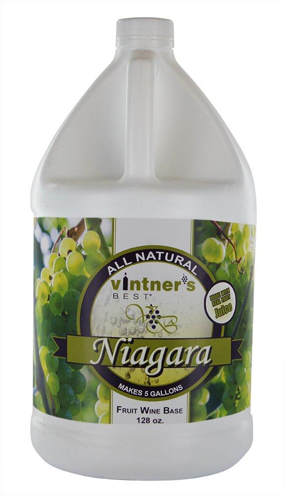 Vintner's Best Niagara Fruit Wine Base-128 oz. Jug