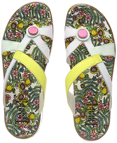 Multicolore Zega Think Bianco Kombi 97 Femme 282383 Tongs wIqrZdfq