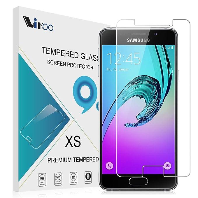 Samsung Galaxy A3 2016 Cristal Templado,Vikoo 9H 2.5D 0.26m Ultra ...