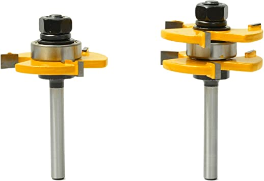 """1//4/"""" Shank Biscuit Joint Slot Cutter Router Bit Woodworking Tool"""